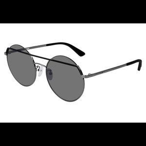 McQ Unisex MQ0164s Black Round Sunglasses